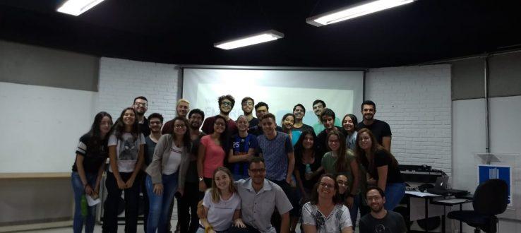 (Português do Brasil) Recepção de Calouros do Programa UFMS Jr.